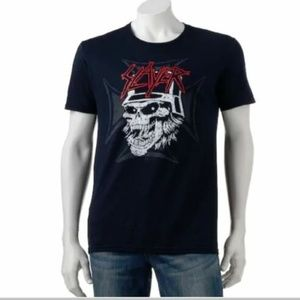 Slayer T-Shirt Men's Black Small Metal Band New
